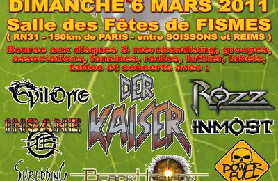 14ème Convention Rock n'Metal de FISMES‏ - HEAVY SOUND SYSTEM
