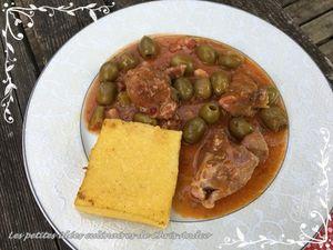 Sauté de veau aux olives