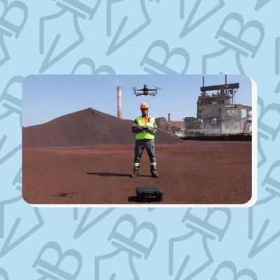 Les drones aident le leader de l'acier ArcelorMittal à accomplir sa nouvelle révolution industrielle