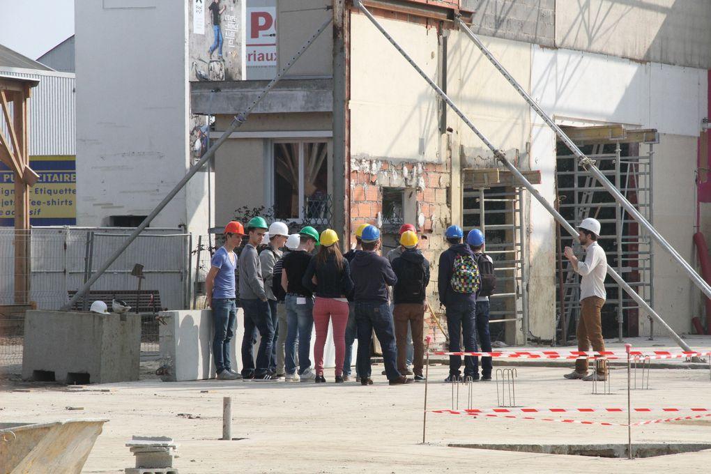 Photos du chantier ouvert