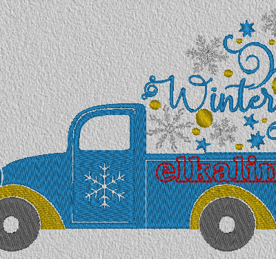 """Camion """"Winter"""""""