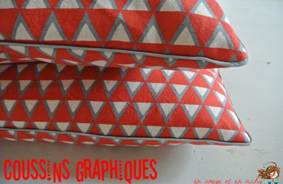 Coussins triangles