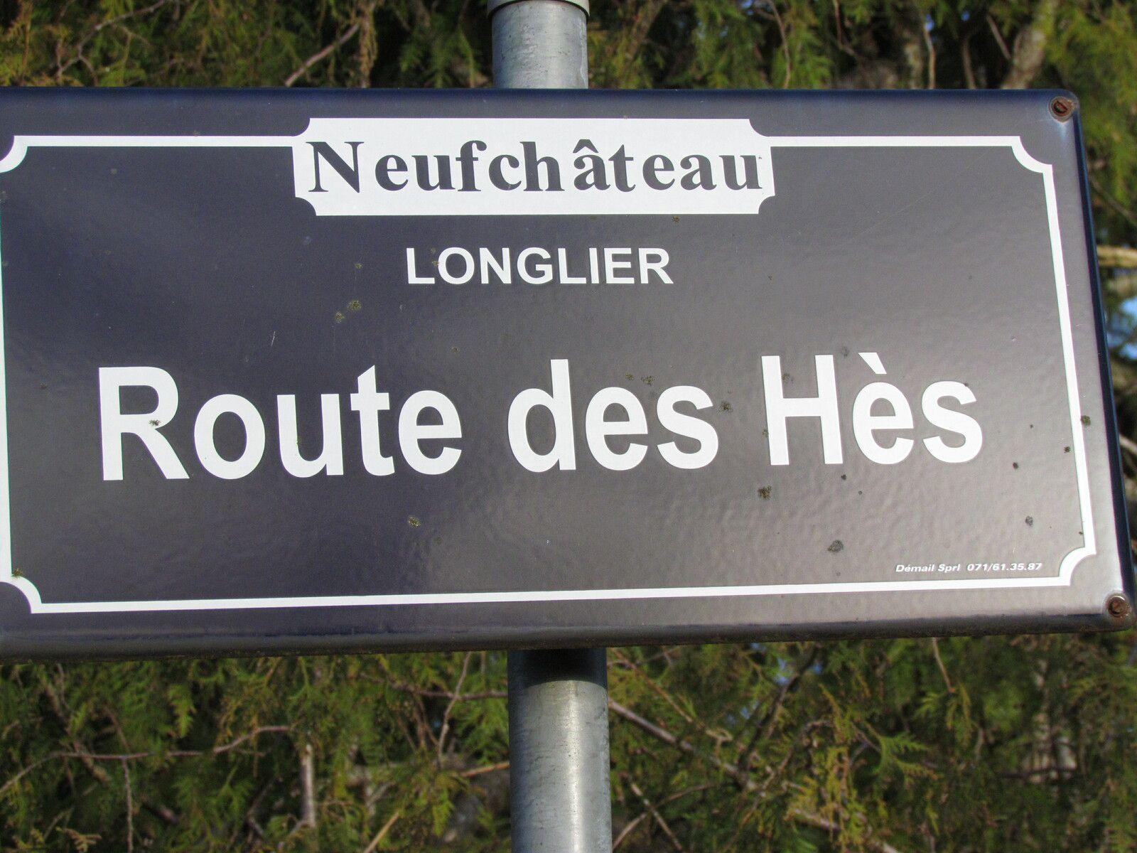 Encore la route des Hès