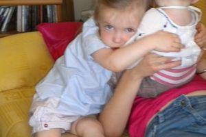 Des calins de ma grande soeur