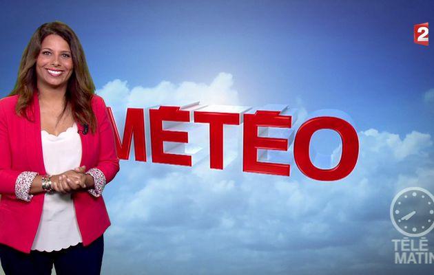 📸3 MYRIAM SEURAT @MyriamSeurat pour LA METEO @telematin @France2tv ce matin #vuesalatele