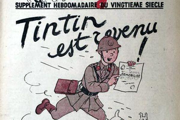 Tintin et la guerre: du reportage d'investigation à la fin des temps / BANDE DESSINEE