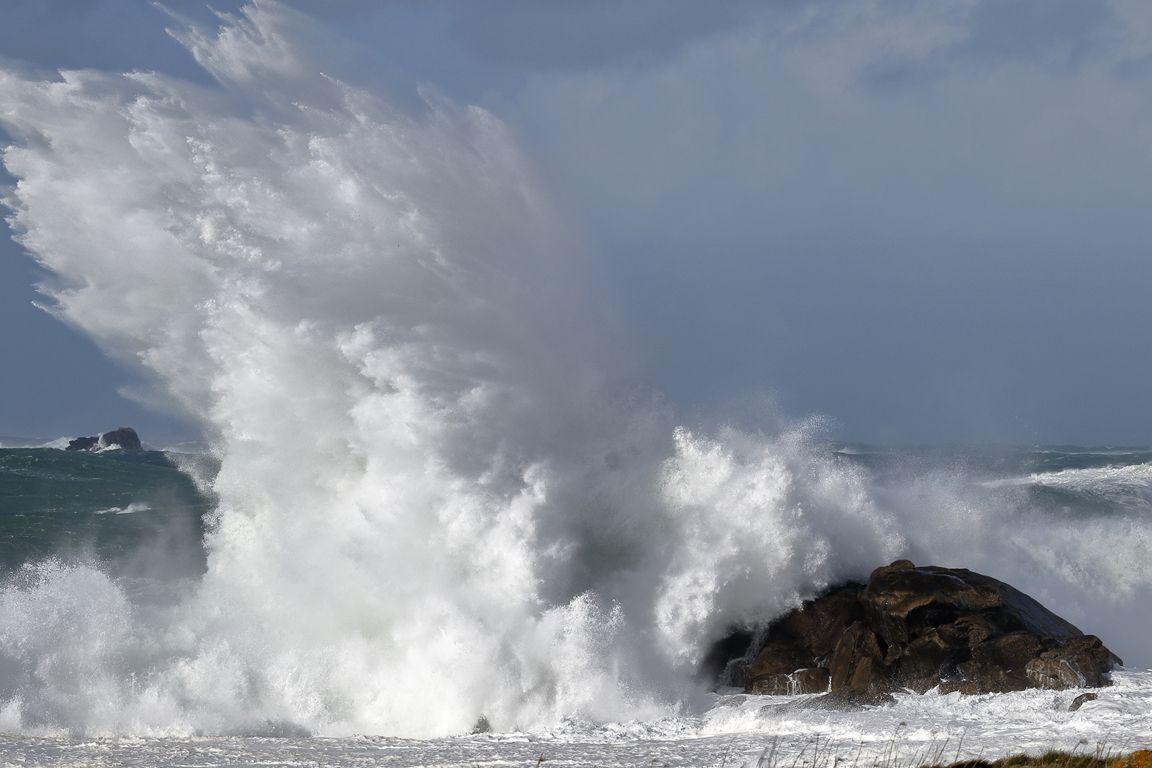 """""""Mer grosse """" en mer d'Iroise (ce jeudi 11 mars 2021)"""