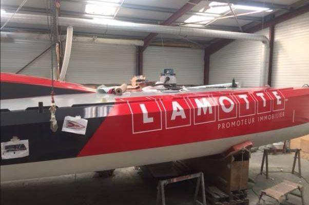 Le nouveau Class40 du Groupe Lamotte mis à l'eau demain!