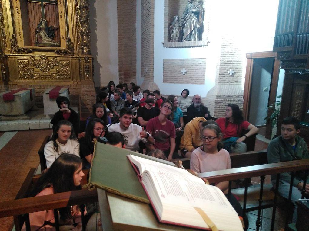 A Santiago por etapas con adolescentes