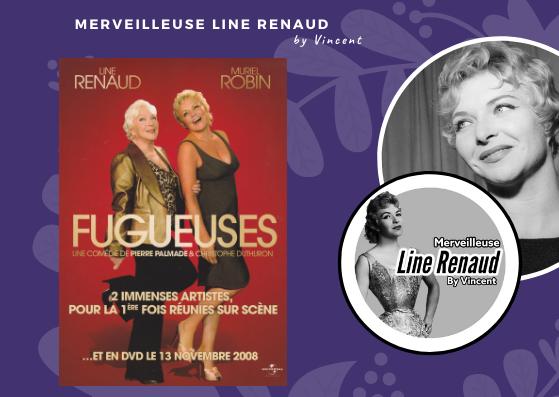 """DOCUMENT: Bon de précommande (professionel) pour les DVD  """"Les Fugueuses """" avec Line Renaud et Muriel Robin 2008"""