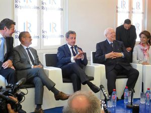 Rencontre des élus LR avec Nicolas Sarkozy