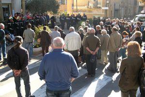 À la mémoire des victimes des attentats