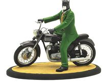 Dark Horse BLACKSAD on Motorcycle Statue Attakus