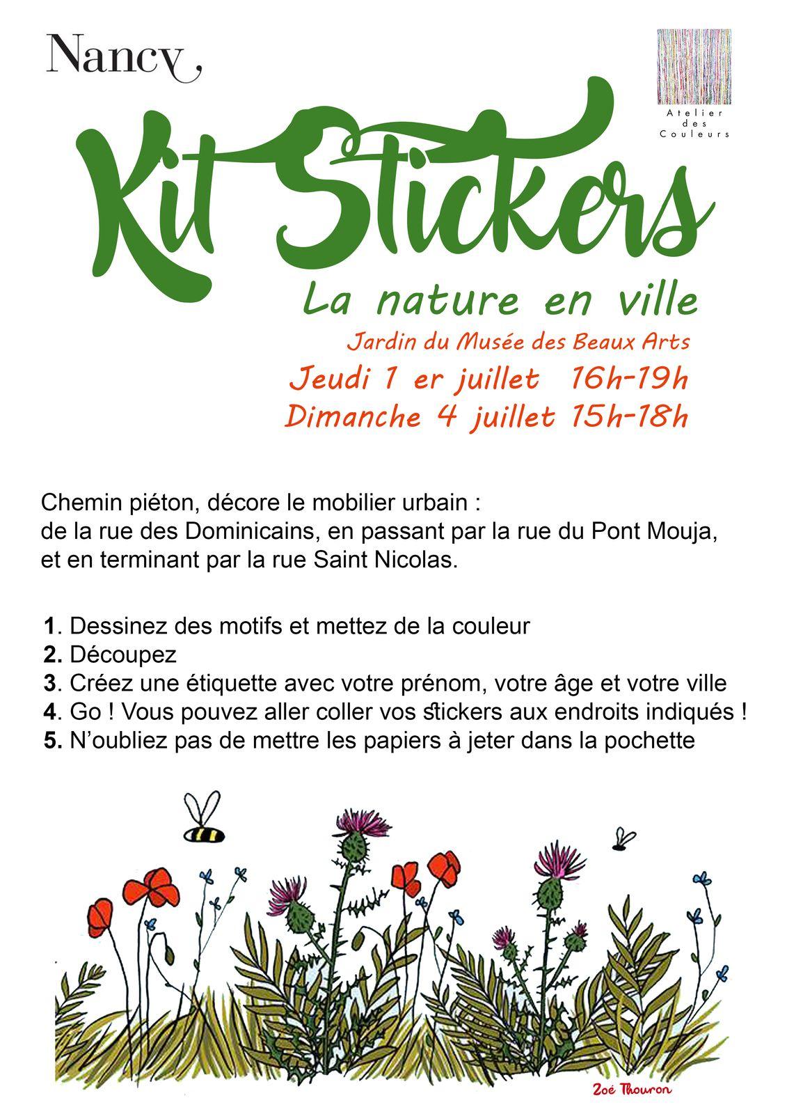 Ateliers Créatifs- Création de stickers au musée