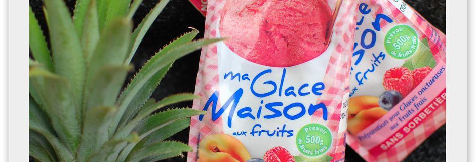 Glace Maison Mangue - Ananas au Lait d'Amande