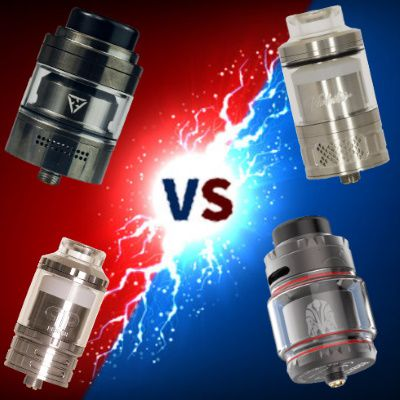 Deathmatch vape - Atomiseur - Fatality M25 VS Trilogy VS Arbiter VS Violator