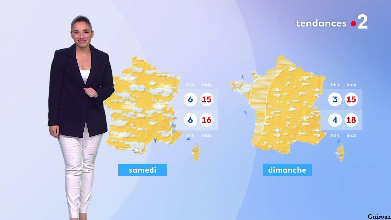 Virginie Hilssone-Lévy 12/10/2021 Journaux météo du midi