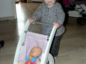 C. et la passion des bébés...