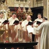 Declaration on sacred music - Altare Dei
