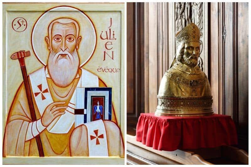 Dimanche 31 janvier, 4° dimanche du temps ordinaire : fête de saint Julien saint Patron du diocèse du Mans