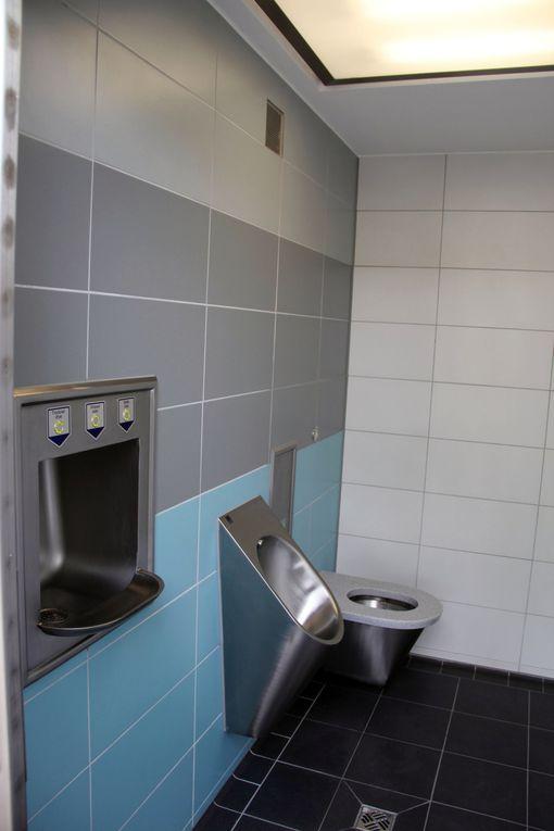 am 20.5.2011  + Übergabe WC-Anlage und Aktivenspielgeräte an der Kneippanlage