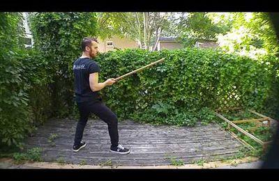 Techniques du bâton de Joinville par Maxime Chouinard