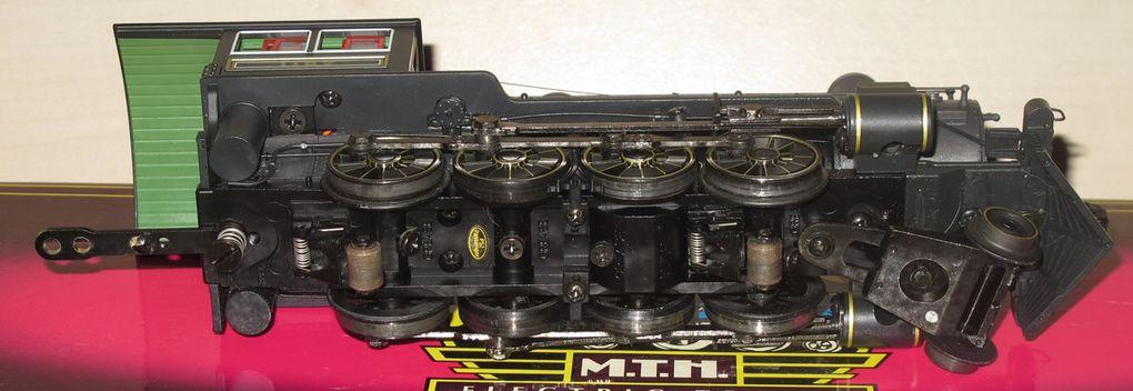 MTH Premier locomotive à vapeur 2-8-0 H-3 Consolidation toute en finesse