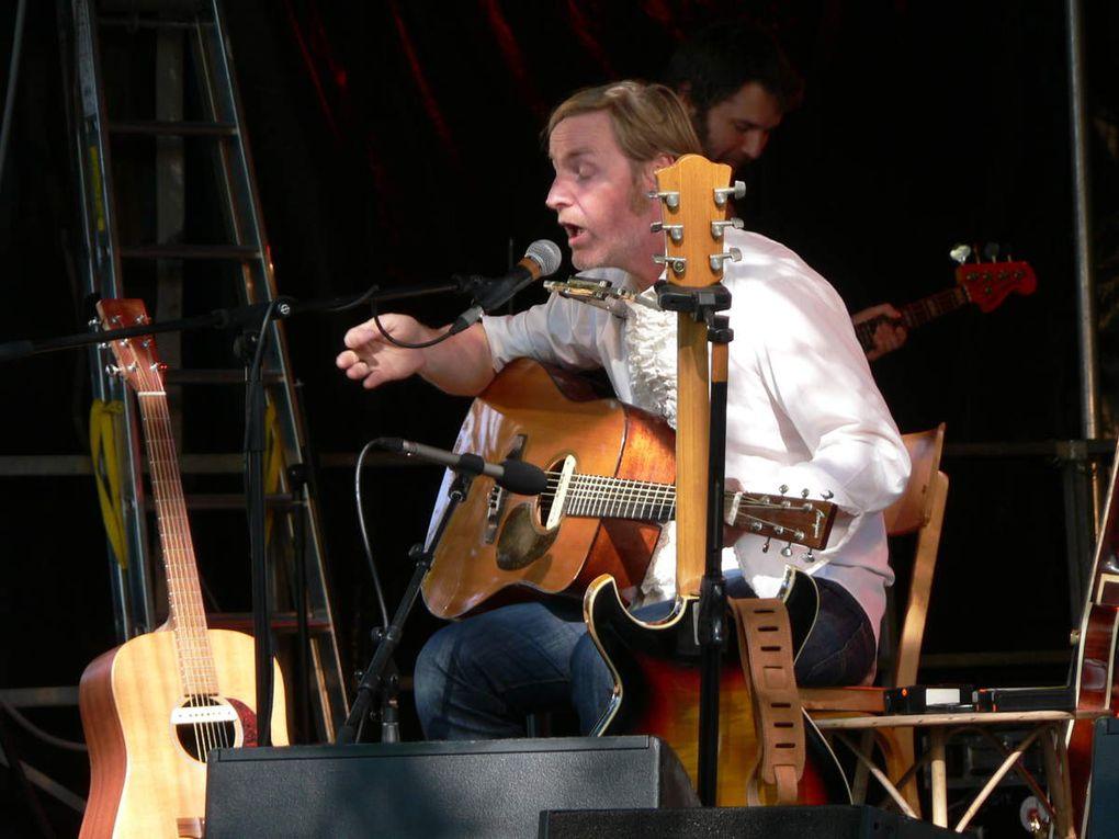 Les concerts place des Garennes.