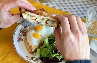 Monsieur, croque madame ?