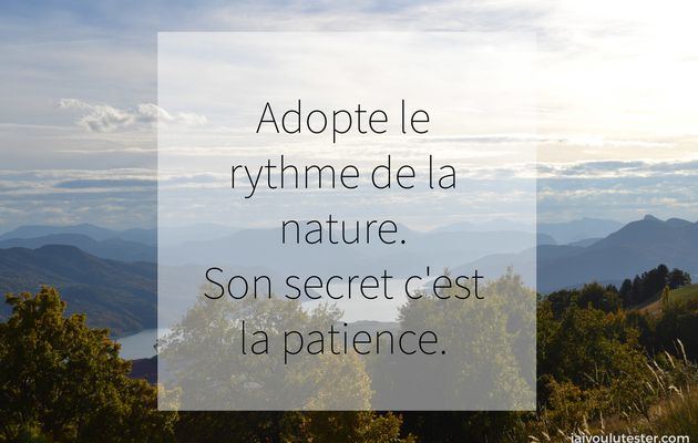 2 minutes de jolies citations sur la Nature