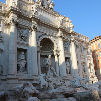 Rome - September 2018 - Day 1- Trevi Fountain, day and night