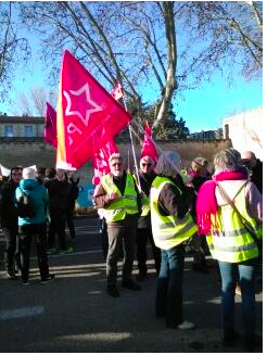 4000 manifestants ce samedi à Avignon. Mardi on continue
