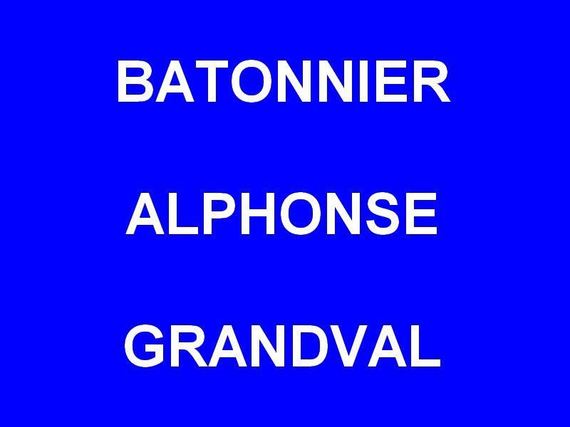 BATONNIER ALPHONSE GRANDVAL ,Port de Hyères
