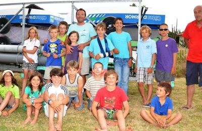Coupe internationale optimist de Biscarosse : des petits canotiers en forme !!!