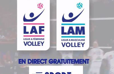 [Droits TV] Volley - Sport en France diffuseur des Championnats de Ligue A !