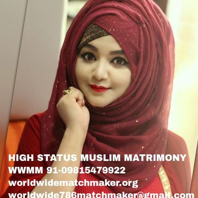 WELCOME TO THE WORLD OF MUSLIM MATCHMAKING 91-09815479922 WWMM