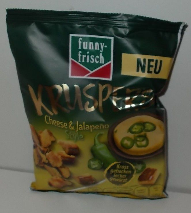 funny-frisch Kruspers Cheese & Jalapeno Style