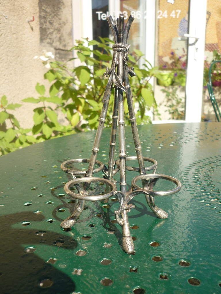 Accessoire de table Christofle d'époque Art Nouveau