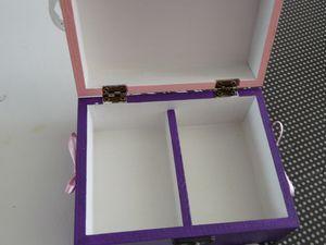 Boîtes à Trésor - Modèle avec Inscription - 9€