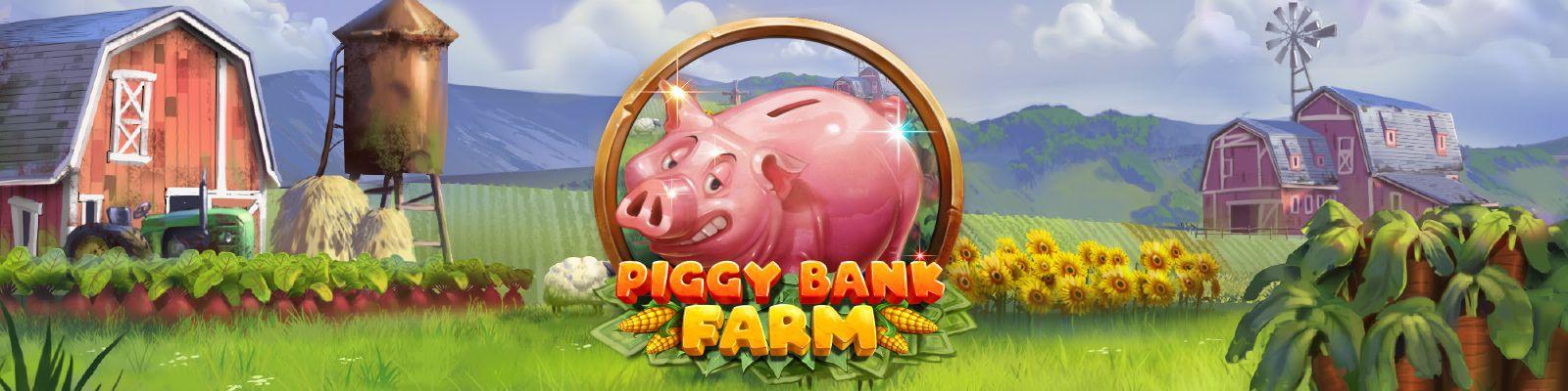 Piggy Bank Farm :  machine à sous en ligne Play'n Go 2021