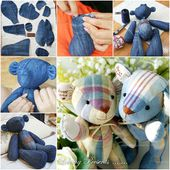 How to DIY Cute Fabric Teddy Bear