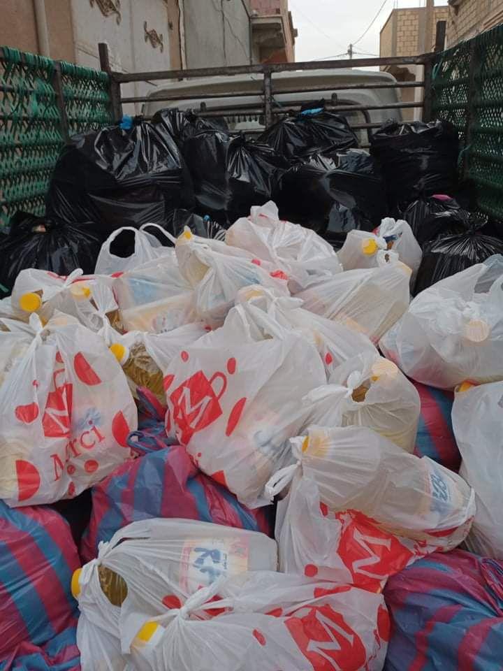 Des nouvelles photos des distribution des Colis Alimentaire s
