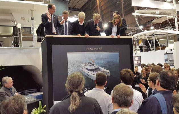 Les Directs du Nautic 2014 - Fountaine Pajot annonce son nouveau yacht, l'Ipanema 58