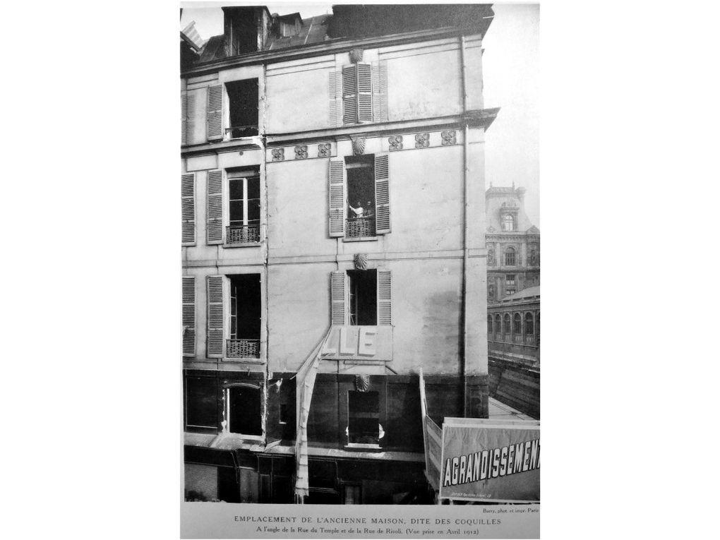 1912 - 1913 :  Les travaux