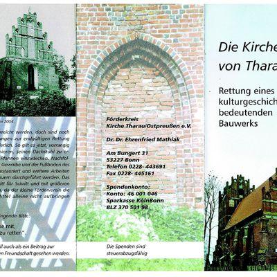 Förderkreis Kirche Tharau/Ostpreußen