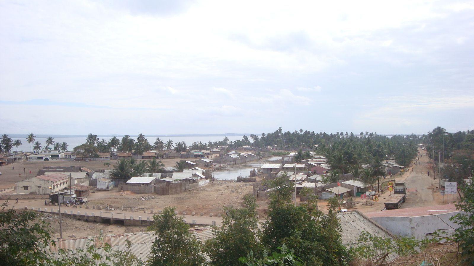 Pemba, capitale de la province de Cabo Delgado, dans le nord-est du Mozambique.