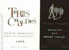 Saumur Champigny, Terres Chaudes, Domaine des Roches Neuves, Thierry Germain, 2007