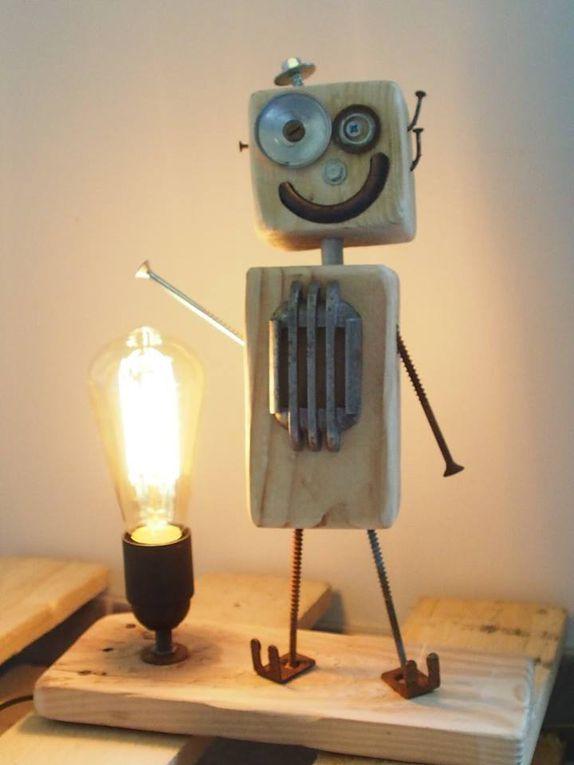Des lampes cubots