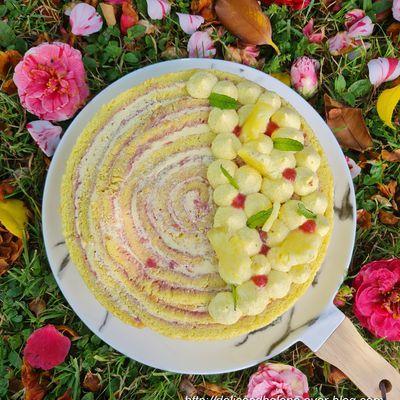 ROLL CAKE VANILLE-FRAISE