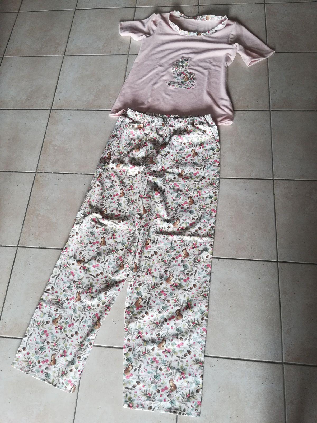 pyjama jeune femme